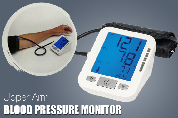 Factory-repacked VISAGE Automatic Upper Arm Digital Blood Pressure Monitor