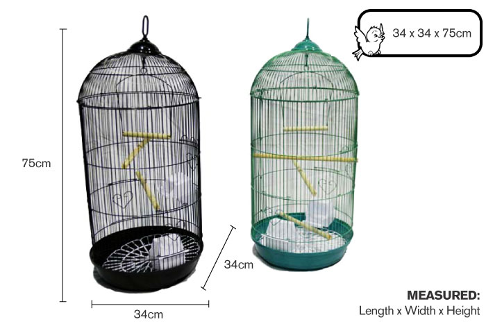 Bird Cage Dome-34x34x75cm-2colours