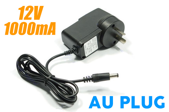 DC 12V 1A Wall Power Adapter 100-240V (AU Plug)