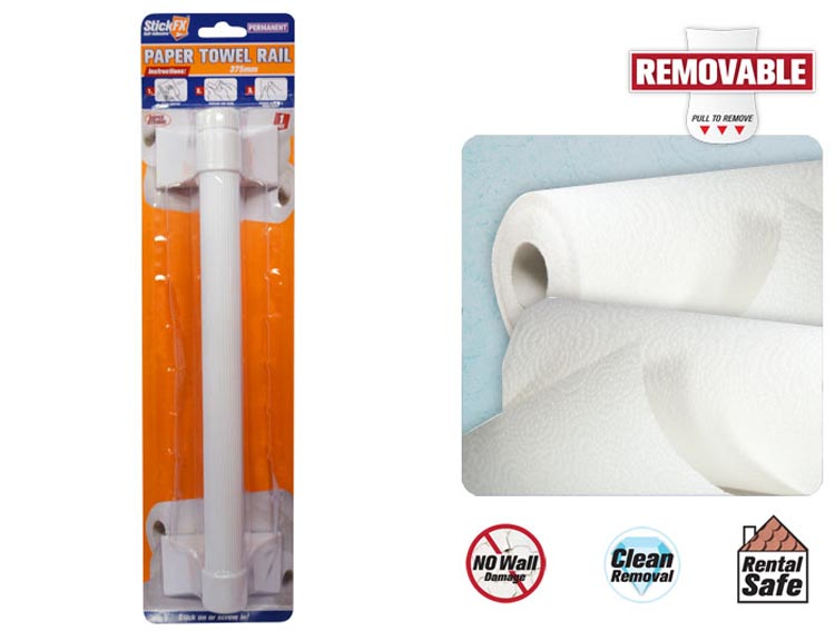 Self-Adhesive Paper Towel Holder - 375mm