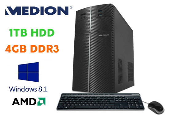 Medion Ex-Leased Multimedia Desktop PC E4010E (MD8322)