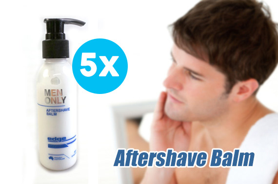 5x Edge Aftershave Balm for Men 125mL