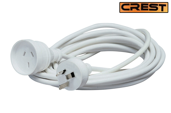 Crest 3 Metre Power Lead Extension Cord