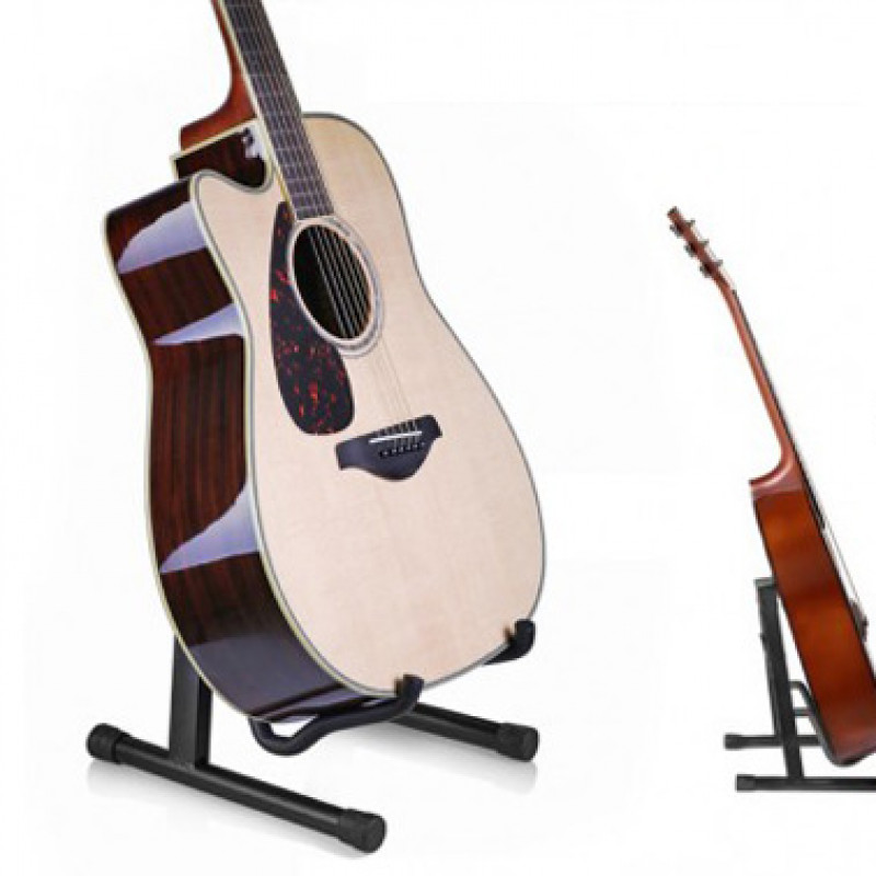 Folding A-Frame Guitar Stand Floor Holder
