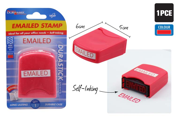 EMAILED Stamp - Self Inking