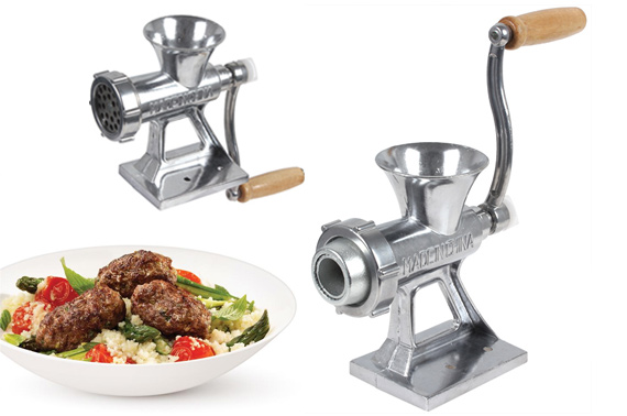 Hand Operated Table Meat Grinder Mincer