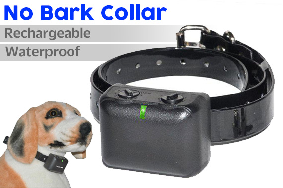 Waterproof Rechargeable Automatic Anti Bark Pet Collar