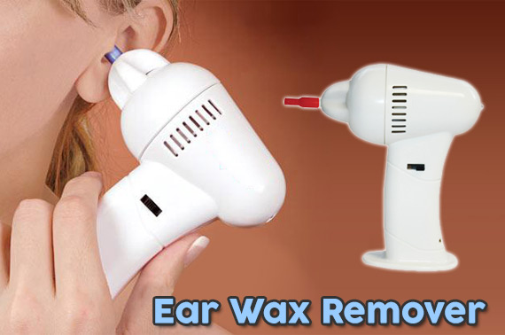 Electric Cordless Ear Vacuum Cleaner/Wax Remover
