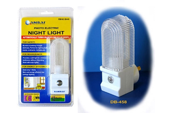 Automatic ON/OFF LED Night Light