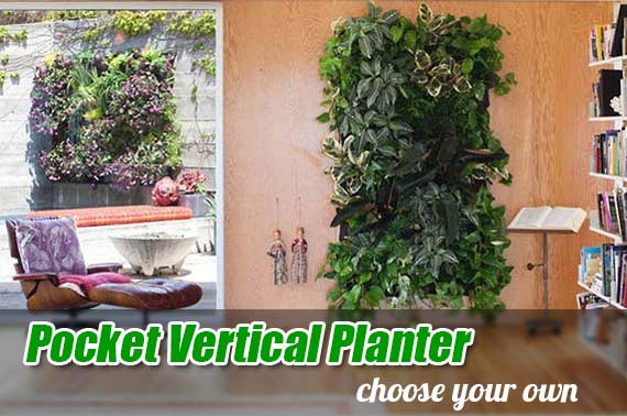4/7/9/12 Pocket Vertical Garden Planter