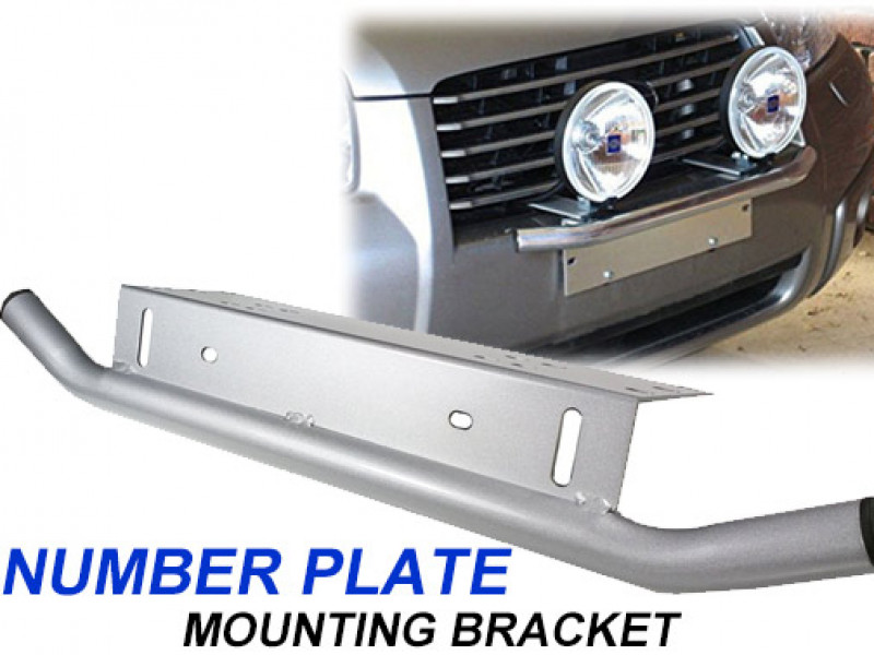 Car's Number Plate Bullbar Frame Mounting Bracket