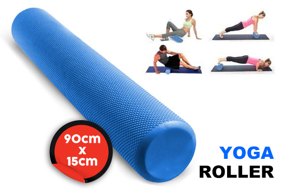 90x15cm Yoga Exercise EVA Foam Roller