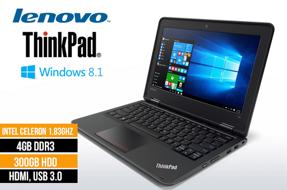 Ex-lease Lenovo Thinkpad 11e 11.6inch Laptop