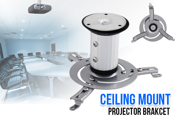 Universal Projector Ceiling Mount Bracket