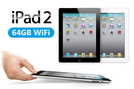 Refurbished Apple iPad 2 - 64GB WiFi A1395