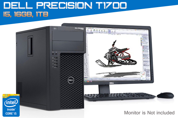 Ex-Leased Dell Precision T1700 Tower Workstation