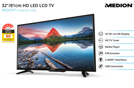 Refurbished MEDION 80cm (32