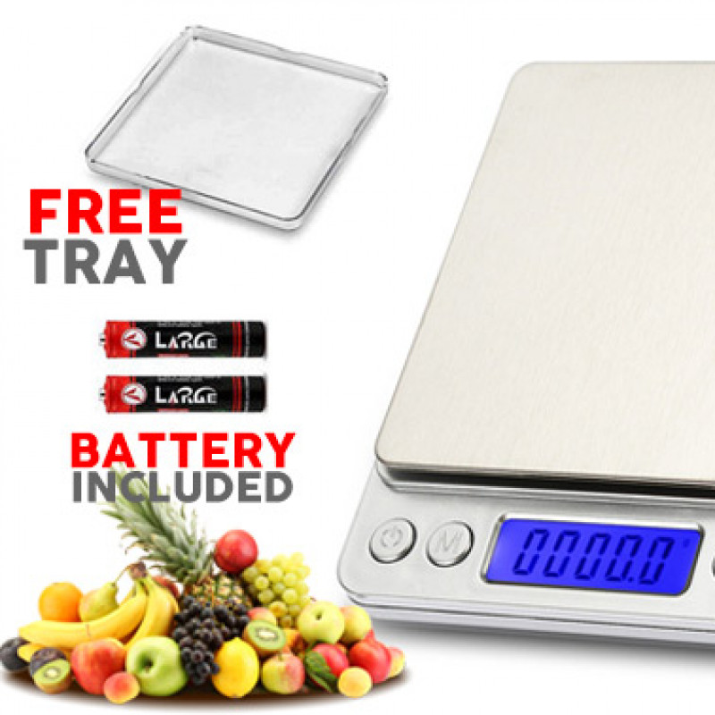 3KG/0.1g Electronic Kitchen Digital Scale