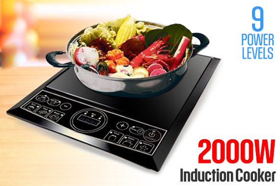 2000W Portable Induction Cooker