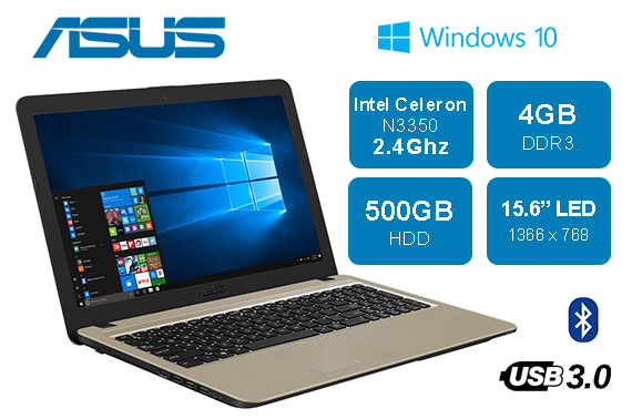 Refurbished Asus Vivobook X540NA 15.6
