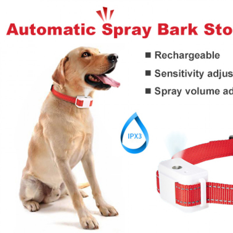Anti Bark Spray Collar Automatic Humane Citronella Stop Dog Training No Barking