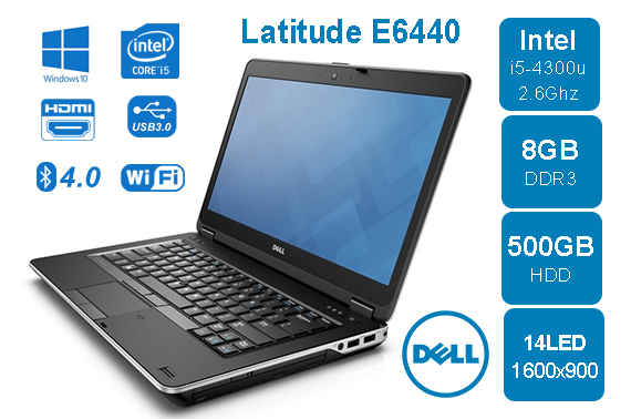 Dell Latitude E6440 i5 4200M 2.5GHz 8GB 500GB HDD 14