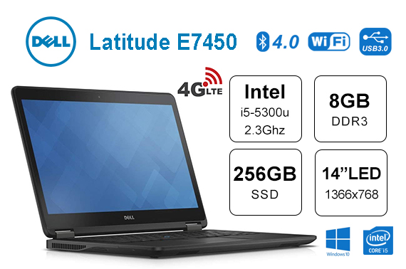 Refurbished Dell E7450 14