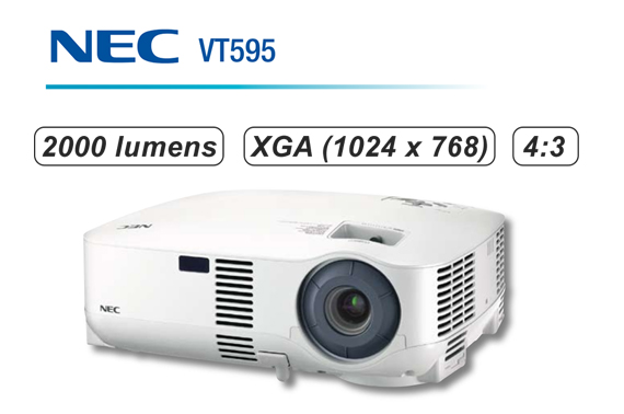 Refurbished NEC VT595 LCD Projector