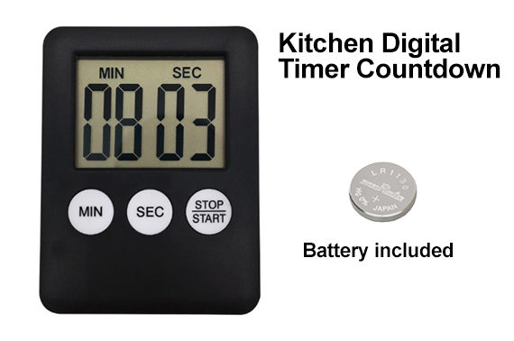 Magnetic Kitchen LCD Digital Countdown Timer