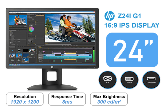 Refurbished HP Promo G1 Z24i 24