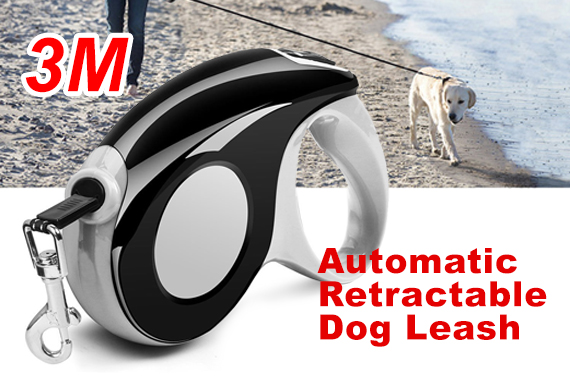 3M Heavy Duty Pet Dog Automatic Retractable Leash Strap