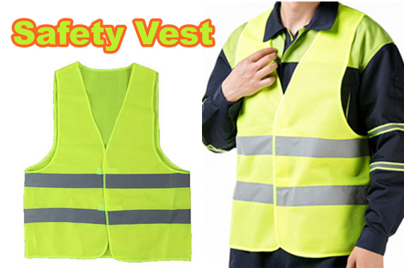 Free Ozstock Deal: High Visibility Work Jacket  Safety Vest with Reflective Tape