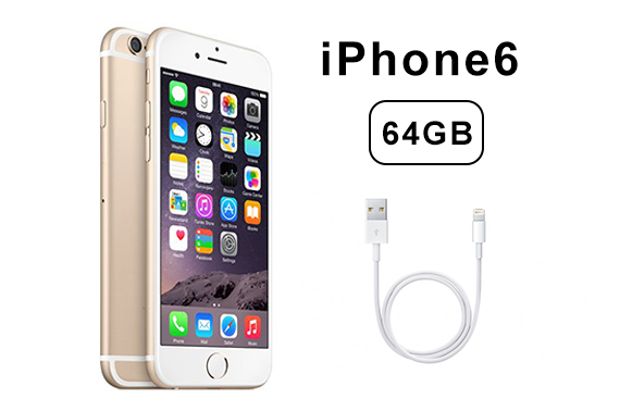 Refurbished Apple iPhone 6 64GB 4G LTE Sim Mobile Smartphone Unlocked