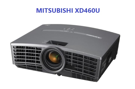 Mitsubishi XD460U Multimedia DLP DATA PROJECTOR 2600 LUMENS DVI VGA SPEAKER