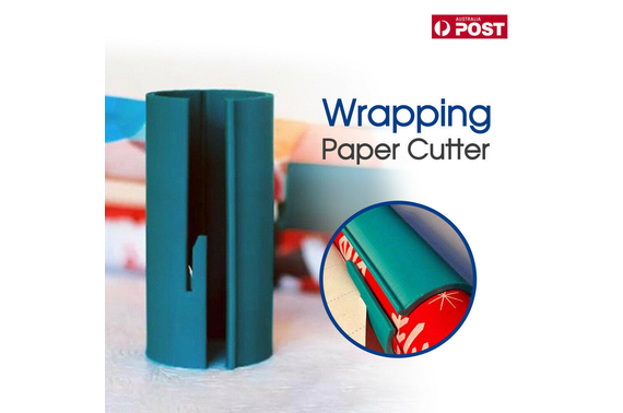 Sliding Wrapping Paper Cutter Christmas Craft Seconds Wrap Paper Cut Tools