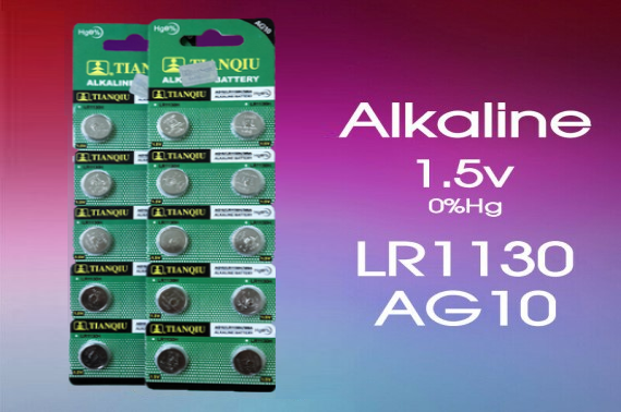10X LR1130 Battery (AG10/390)1.5V Alkaline Batteries