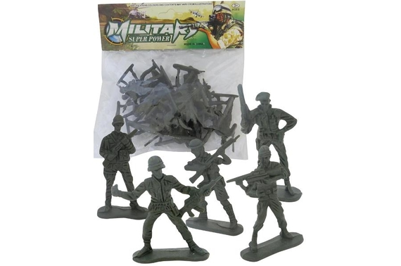 Military Super Power Army Men Figure 20 pc Gift Pack