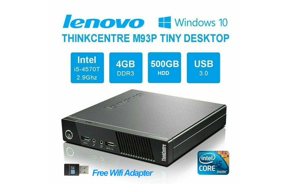 Lenovo M93P tiny i5 4gb 500GB