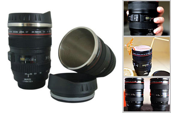 Super Deal: Camera 24-105mm Lens Stainless Steel Coffee Mug