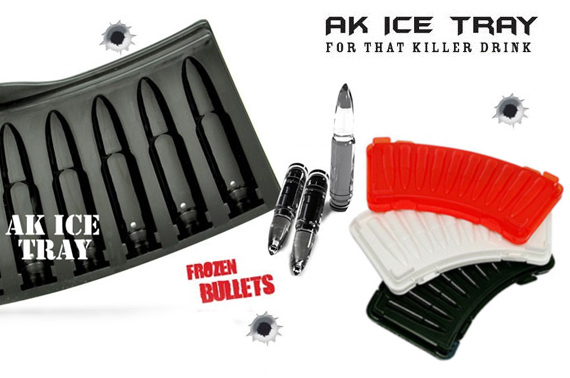 FREE Ozstock Day: AK Bullet Shaped Ice Tray