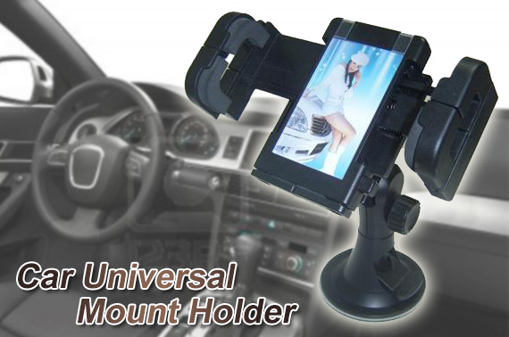 FREE Ozstock Day: Adjustable Car Universal Mount Holder for iPhone / Mobile Phone / GPS