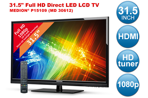 Super Deal: Refurbished MEDION 80cm (31.5