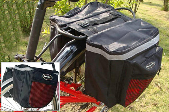 Rainproof Double Sided Bicycle Rear Rack Bag