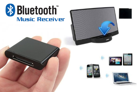 I Wave Bluetooth Music Receiver For Audio Dock Station