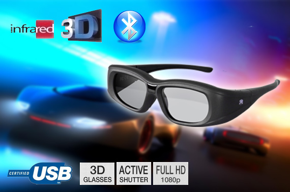 Super Deal: BRAND NEW 3D Active Shutter Glasses for 3D TV