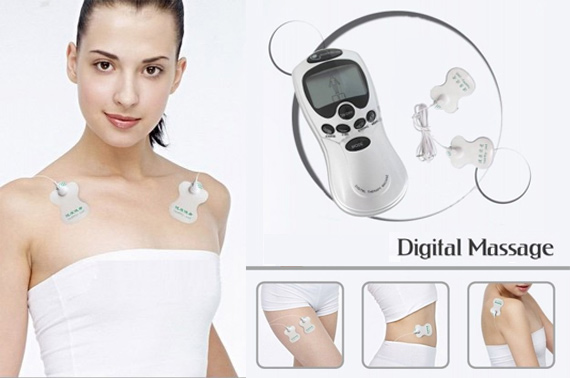 Digital Massager Machine with LCD Display