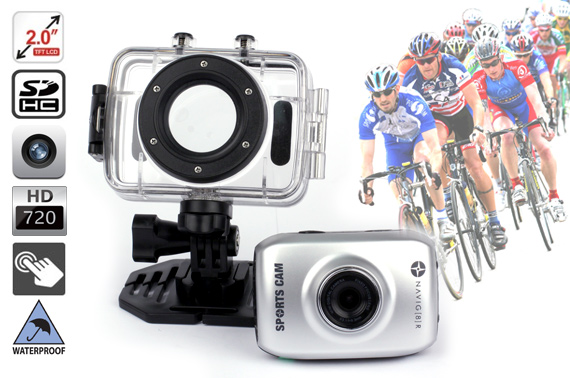Navig8r Sports Camera HD 720P with 2.0