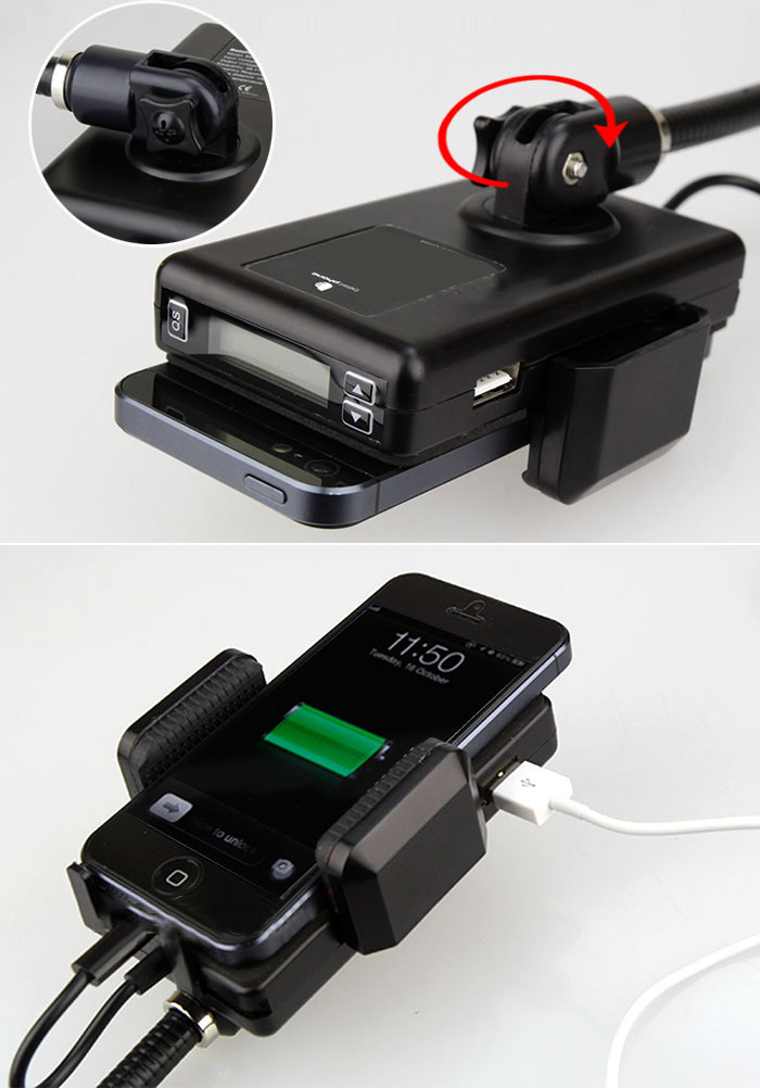 fm transmitter car charger holder kit for iphone 5. Black Bedroom Furniture Sets. Home Design Ideas