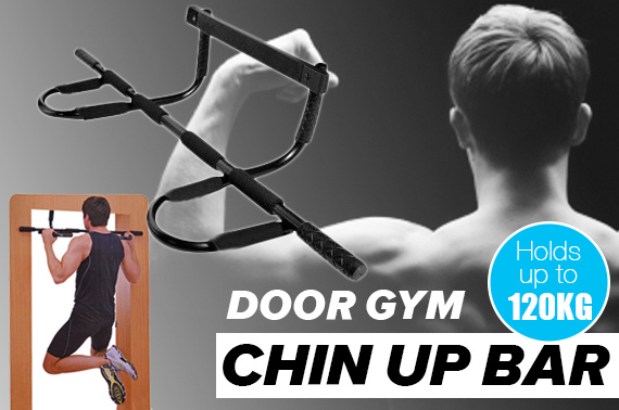 Portable All-in-One Door Gym Chin-Up Bar
