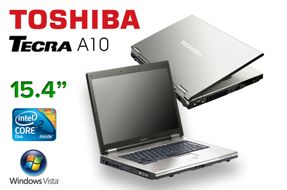Refurbished Toshiba Tecra A10 15.4inch Laptop
